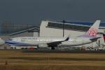 よしポンさんが、成田国際空港で撮影したチャイナエアライン 737-8Q8の航空フォト(写真)