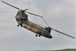 ばとさんが、東富士演習場で撮影した陸上自衛隊 CH-47JAの航空フォト(写真)
