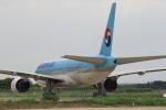 多楽さんが、茨城空港で撮影した大韓航空 777-2B5/ERの航空フォト(写真)