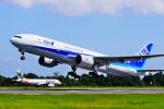 うらしまさんが、高松空港で撮影した全日空 777-281の航空フォト(写真)