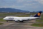 tecasoさんが、関西国際空港で撮影したルフトハンザドイツ航空 747-430の航空フォト(写真)