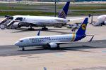 まいけるさんが、フランクフルト国際空港で撮影したウクライナ国際航空 737-8ASの航空フォト(写真)