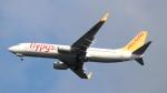 誘喜さんが、フランクフルト国際空港で撮影したペガサス・エアラインズ 737-82Rの航空フォト(写真)