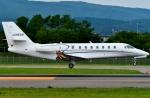 Dojalanaさんが、函館空港で撮影したノエビア 680 Citation Sovereignの航空フォト(飛行機 写真・画像)