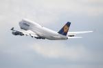 Koenig117さんが、関西国際空港で撮影したルフトハンザドイツ航空 747-430の航空フォト(写真)