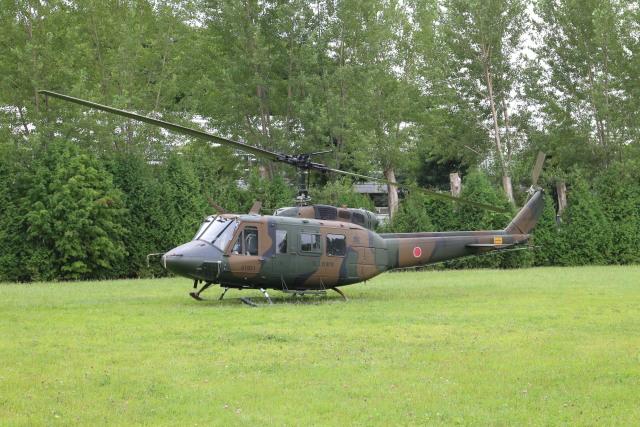 parurunさんが、真駒内駐屯地で撮影した陸上自衛隊 UH-1Jの航空フォト(飛行機 写真・画像)