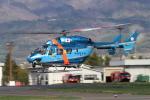 Nao0407さんが、松本空港で撮影した秋田県警察 BK117C-1の航空フォト(写真)