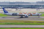 PASSENGERさんが、羽田空港で撮影した全日空 777-381/ERの航空フォト(写真)