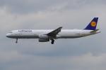 PASSENGERさんが、フランクフルト国際空港で撮影したルフトハンザドイツ航空 A321-131の航空フォト(飛行機 写真・画像)