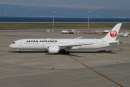 きんめいさんが、中部国際空港で撮影した日本航空 787-9の航空フォト(飛行機 写真・画像)