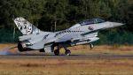 C.Hiranoさんが、クライネ・ブローゲル空軍基地で撮影したノルウェー空軍 F-16BM Fighting Falconの航空フォト(写真)