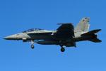 りんたろうさんが、厚木飛行場で撮影したアメリカ海軍 F/A-18F Super Hornetの航空フォト(写真)