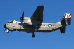 りんたろうさんが、厚木飛行場で撮影したアメリカ海軍 C-2A Greyhoundの航空フォト(写真)