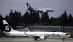 planetさんが、シアトル タコマ国際空港で撮影したアラスカ航空 737-990の航空フォト(写真)