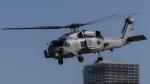 shootingstarさんが、東京臨海広域防災公園ヘリポートで撮影したアメリカ海軍 MH-60R Seahawk (S-70B)の航空フォト(写真)