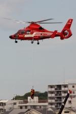 あきらっすさんが、調布飛行場で撮影した東京消防庁航空隊 AS365N3 Dauphin 2の航空フォト(写真)