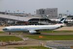 ちゅういちさんが、関西国際空港で撮影したキャセイパシフィック航空 A330-343Xの航空フォト(写真)