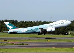 voyagerさんが、成田国際空港で撮影したキャセイパシフィック航空 747-867F/SCDの航空フォト(写真)