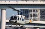 ヘリオスさんが、東京臨海広域防災公園ヘリポートで撮影したアメリカ空軍 UH-1Nの航空フォト(写真)