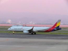 まさ773さんが、関西国際空港で撮影したアシアナ航空 A321-231の航空フォト(写真)