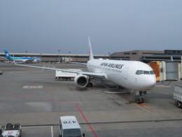 まさ773さんが、成田国際空港で撮影した日本航空 767-346/ERの航空フォト(写真)