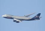 長月ぽっぷさんが、小松空港で撮影したシルクウェイ・ウェスト・エアラインズ 747-83QFの航空フォト(写真)