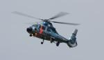 arihiroさんが、酒匂川河川敷スポーツ広場ヘリポートで撮影した神奈川県警察 AS365N3 Dauphin 2の航空フォト(写真)