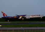 goldengoldsさんが、成田国際空港で撮影したカタール航空 777-3DZ/ERの航空フォト(写真)