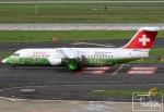 dave_0402さんが、デュッセルドルフ国際空港で撮影したスイスインターナショナルエアラインズ Avro 146-RJ100の航空フォト(写真)