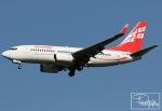 dave_0402さんが、ウィーン国際空港で撮影したグルジアン・エアウェイズ 737-7BKの航空フォト(写真)