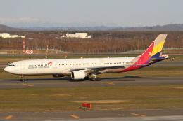 セブンさんが、新千歳空港で撮影したアシアナ航空 A330-323Xの航空フォト(写真)