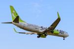いっち〜@RJFMさんが、宮崎空港で撮影したソラシド エア 737-81Dの航空フォト(写真)