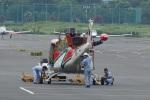 あきらっすさんが、調布飛行場で撮影した奈良県防災航空隊 412EPの航空フォト(写真)