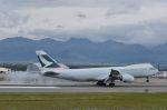 JL60さんが、テッドスティーブンズ・アンカレッジ国際空港で撮影したキャセイパシフィック航空 747-867F/SCDの航空フォト(写真)