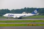 らっしーさんが、成田国際空港で撮影したポーラーエアカーゴ 747-46NF/SCDの航空フォト(写真)
