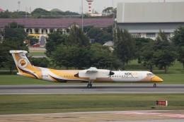 トールさんが、ドンムアン空港で撮影したノックエア DHC-8-402Q Dash 8の航空フォト(飛行機 写真・画像)