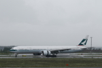 ATOMさんが、新千歳空港で撮影したキャセイパシフィック航空 777-367/ERの航空フォト(写真)