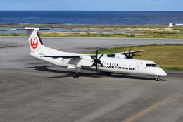 sky77さんが、久米島空港で撮影した琉球エアーコミューター DHC-8-402Q Dash 8 Combiの航空フォト(写真)