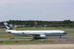meijeanさんが、成田国際空港で撮影したキャセイパシフィック航空 A330-343Xの航空フォト(写真)