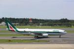 meijeanさんが、成田国際空港で撮影したアリタリア航空 A330-202の航空フォト(写真)