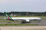 meijeanさんが、成田国際空港で撮影したアリタリア航空 777-2Q8/ERの航空フォト(写真)