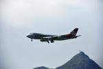 ho ho hoさんが、香港国際空港で撮影したカーゴルクス・イタリア 747-4R7F/SCDの航空フォト(写真)