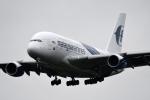 ho ho hoさんが、成田国際空港で撮影したマレーシア航空 A380-841の航空フォト(写真)