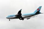 ho ho hoさんが、成田国際空港で撮影した大韓航空 747-4B5の航空フォト(写真)