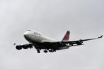 ho ho hoさんが、成田国際空港で撮影したデルタ航空 747-451の航空フォト(写真)
