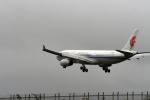 ho ho hoさんが、成田国際空港で撮影した中国国際航空 A330-343Xの航空フォト(写真)