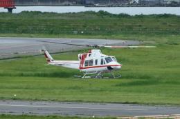 新潟空港 - Niigata Airport [KIJ/RJSN]で撮影された朝日航洋 - Aero Asahi [AKF]の航空機写真