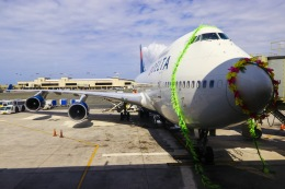 ハネヨンさんが、ダニエル・K・イノウエ国際空港で撮影したデルタ航空 747-451の航空フォト(写真)