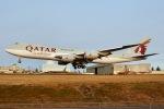JRF spotterさんが、ペインフィールド空港で撮影したカタール航空 747-8の航空フォト(写真)