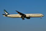 matatabiさんが、成田国際空港で撮影したキャセイパシフィック航空 777-367の航空フォト(写真)